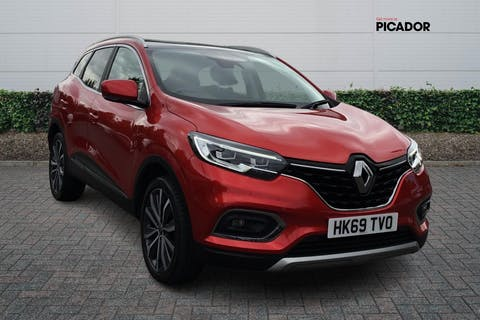 Red Renault Kadjar 1.3 S Edition Tce 2019