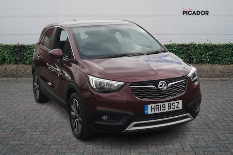 Red Vauxhall Crossland X Elite Nav 2019