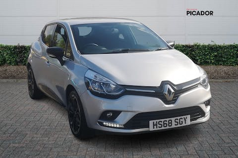 Silver Renault Clio 0.9 Iconic Tce 2019